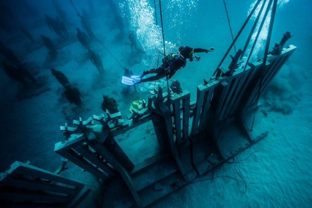 از موزه زیر آب جزایر قناری اسپانیا دیدن کنید