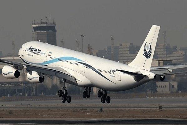پرواز شیراز- مسقط دچار نقص فنی شد