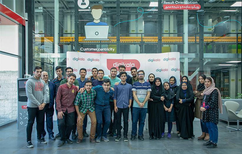 دانشجویان دانشگاه صنعتی شریف در بازدید از مرکز پردازش با روندهای کاری دیجی کالا آشنا شدند