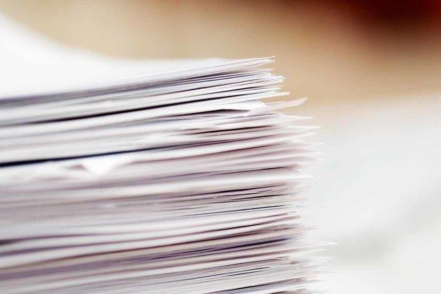 انتشار فهرست کاغذهای تحویلی به ناشران