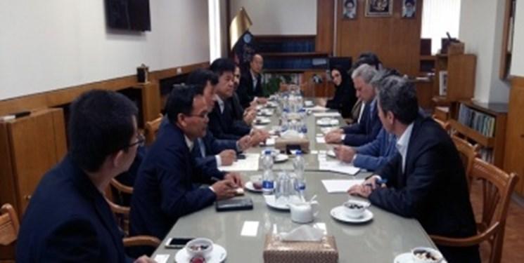 هیئت عالی رتبه جمهوری خلق چین با رئیس دانشگاه تهران دیدار کرد