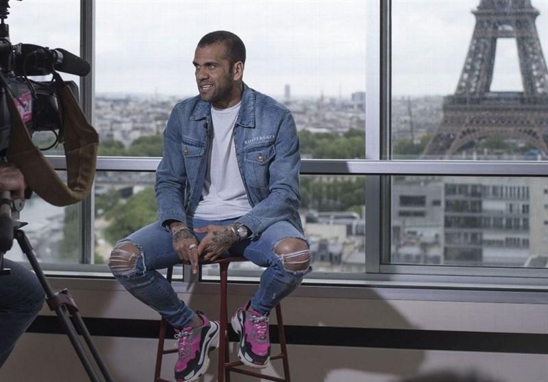 دنی آلوز: روی برج ایفل شرط می بندم که نیمار در PSG می ماند، دوست دارم در انگلیس بازی کنم