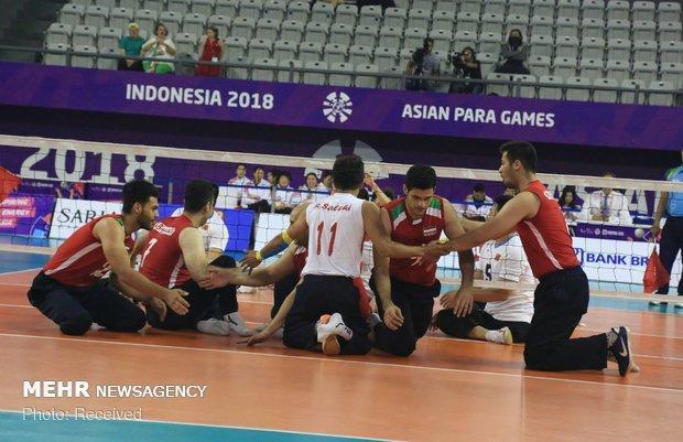 حضور تیم ملی والیبال نشسته مردان ایران در مسابقات قهرمانی آسیا