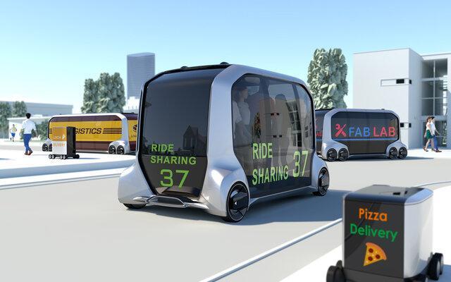 تویوتا سرویس اتوبوس های خودران راه اندازی می نماید