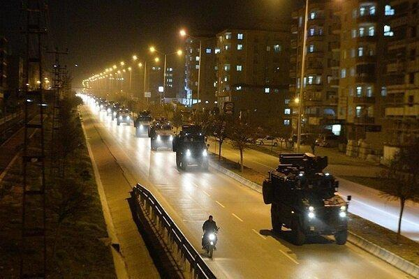 ارسال تجهیزات نظامی ترکیه به حومه ادلب