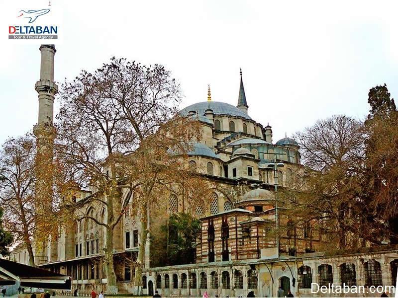 آشنایی با مسجد فاتح استانبول با قدمتی 550 ساله