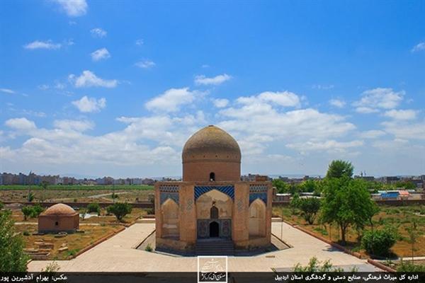 عملیات مرمت بقعه شیخ کلخوران توسط میراث فرهنگی اردبیل اجرا می گردد