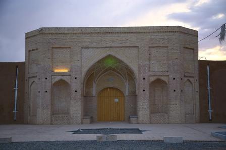 مرمت حمام قلعه صدری قم به اتمام رسید