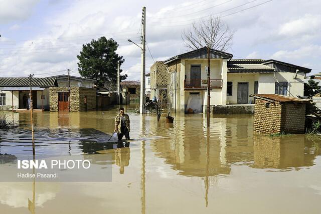 آخرین وضعیت شهرستان سیل زده آق قلا از زبان نماینده منطقه