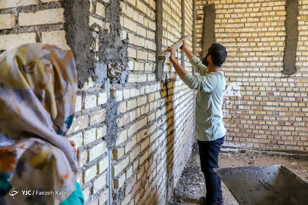 یاری های دانش آموزی برای بازسازی مناطق سیل زده، آق قلا و پلدختر مقصد اصلی دانش آموزان