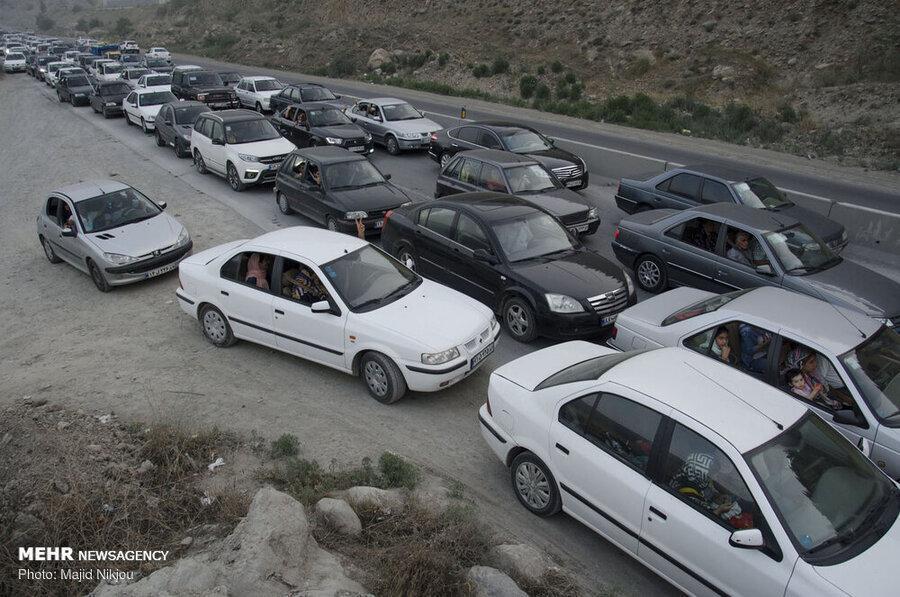 محدودیت ترافیکی یک هفته ای در راه های مازندران