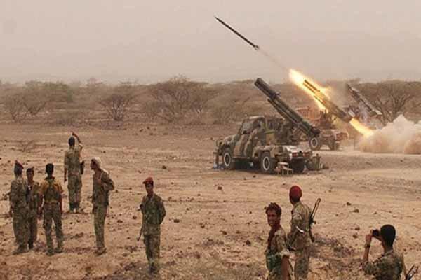 شلیک 3 موشک بالستیک زلزال 1 به مواضع متجاوزان سعودی