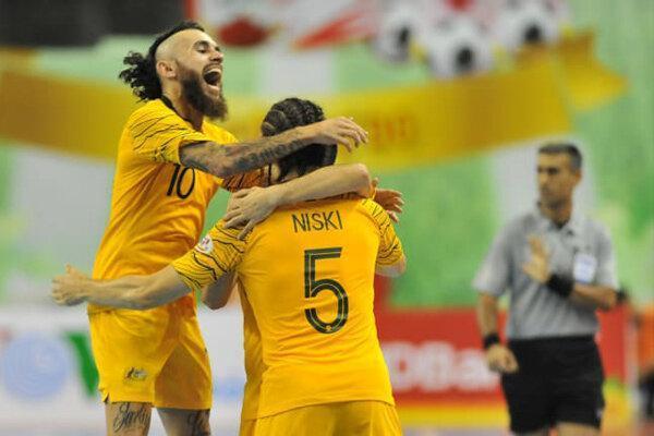پیروزی تیم ملی فوتسال استرالیا مقابل مالزی