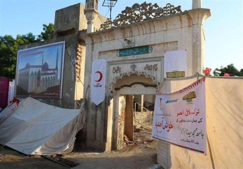 عملیات بازسازی مساجد قدیمی پاکستان توسط ترکیه