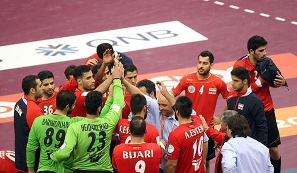 تیم ملی هندبال ایران - کره جنوبی، جدال هندبالیست های جوان و چشم بادامی ها در گام نخست