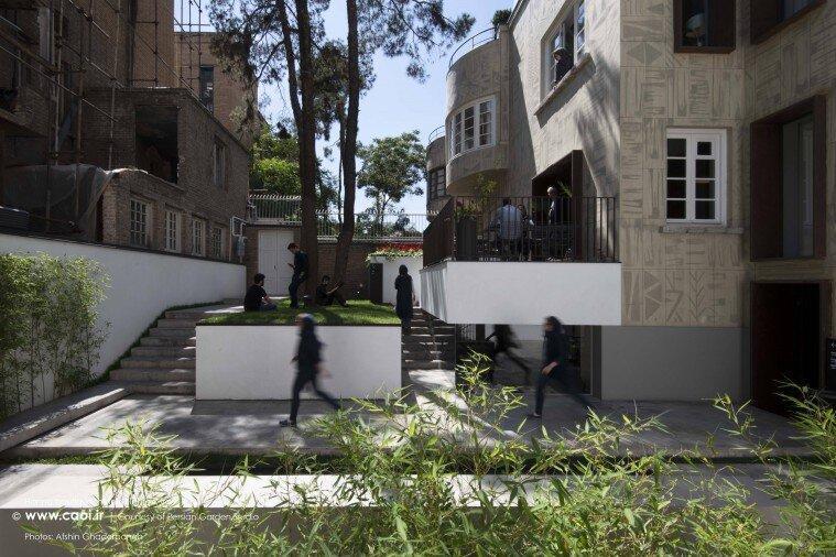 هتل بوتیک حنا چطور مرمت شد؟ ، نگاهی متفاوت به پروژه خاص لولاگر ؛ کوچه قرینه تهران