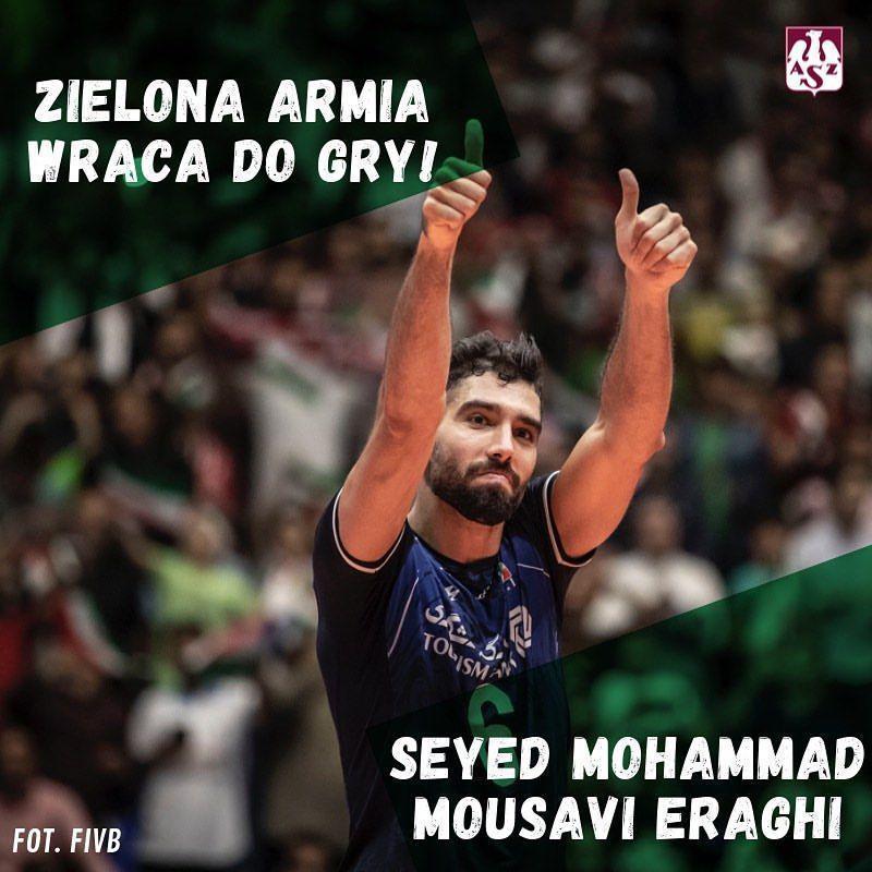 ملی پوش والیبال ایران لژیونر شد