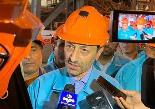 فتاح: 10 درصد احتیاج کشور به فولاد توسط فولاد کاوه تامین می گردد ، افتتاح فاز دوم در نیمه اول سال 99