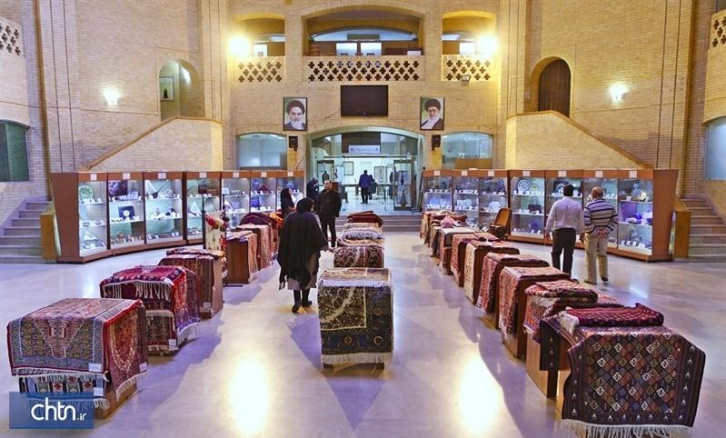 نمایش بافته های داری زنان سنندج و بیجار در وزارت میراث فرهنگی، گردشگری و صنایع دستی