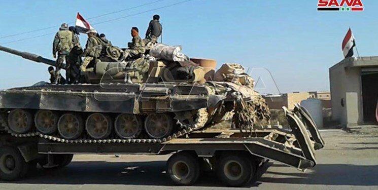 ارش سوریه تجهیزات سنگین نظامی به حسکه فرستاد، عکس