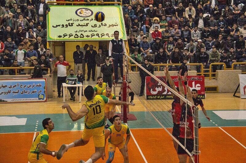 نتایج هفته هشتم لیگ برتر والیبال مردان ایران