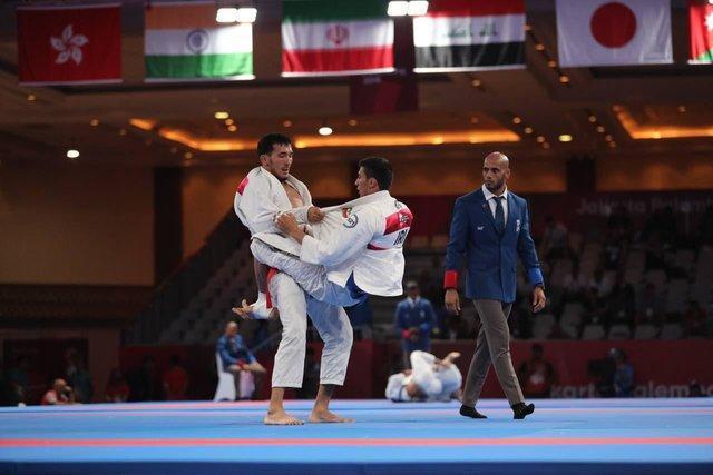 شکست 2 جوجیتسوکار ایران در نخستین گام، صعود نماینده بانوان به یک چهارم