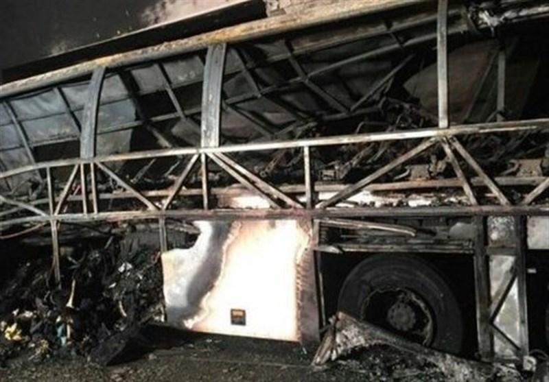 16 کشته در برخورد اتوبوس حامل دانش آموزان با دکل برق در ایتالیا
