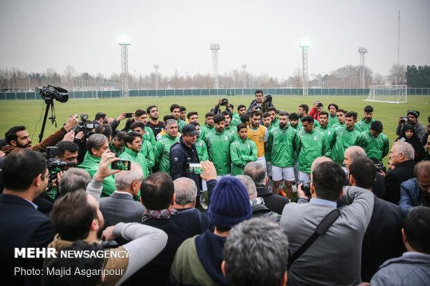 زمان آخرین تمرین تیم امید در تهران معین شد