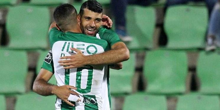 لیگ پرتغال؛ شکست آوس و پیروزی ریو آوه در شب درخشش مهرداد محمدی و مهدی طارمی