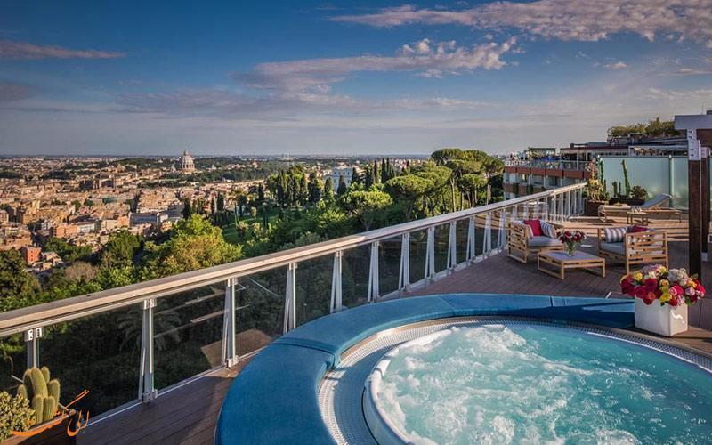معرفی هتل 5 ستاره هتل کاوالیری در رم