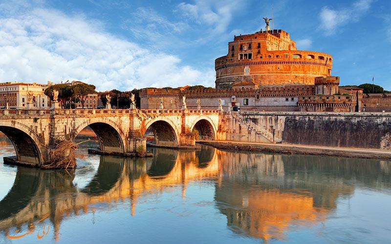 سنت آنجلو، آرامگاهی در رم که به قلعه تبدیل شد