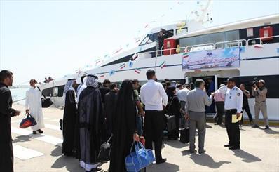 خط کشتیرانی قشم- عمان هفته آینده افتتاح می گردد