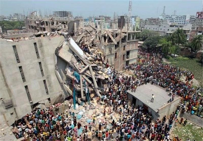 شمار تلفات آوار ساختمان در بنگلادش از 1 هزار و 100 نفر گذشت
