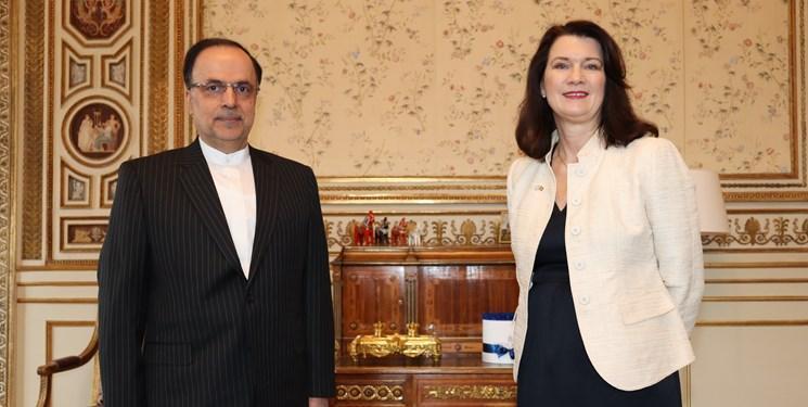 وزیر خارجه سوئد: به دنبال یافتن راه هایی برای رفع موانع تحریمی در روابط تجاری با ایران هستیم