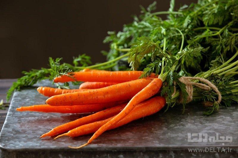 خواص هویج ؛ گیاه کم کالری