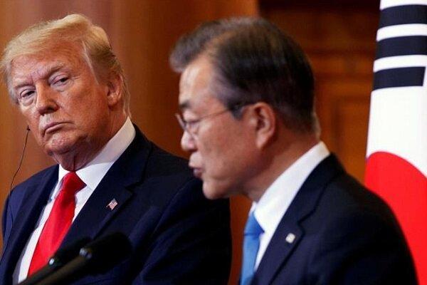 ترامپ: کره جنوبی با پرداخت پول بیشتر به واشنگتن موافقت کرده است