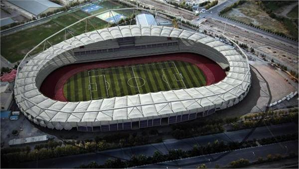 آماده سازی استادیوم امام رضا برای ملاقات شهر خودرو و ذوب آهن