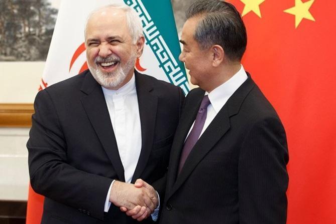 توئیت وزیر امور خارجه به زبان چینی: درباره برنامه 25 ساله همکاری های دوجانبه به توافق رسیدیم