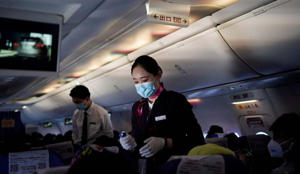 راه های پیشگیری از ویروس کرونا در هواپیما