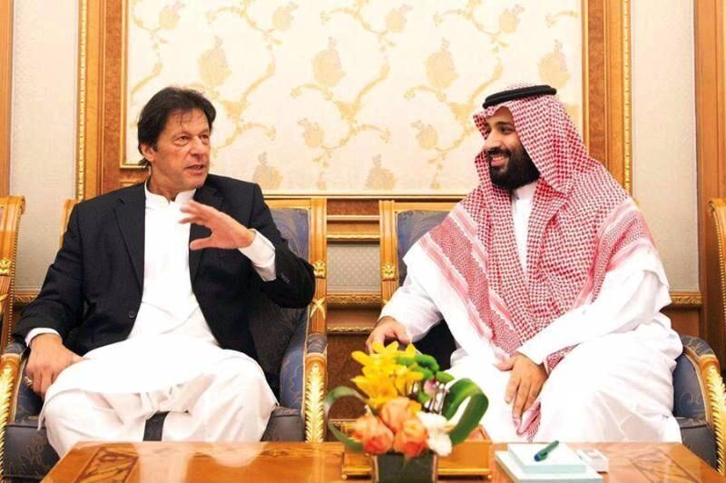 خبرنگاران عمران خان برای بهبود روابط دوجانبه به عربستان می رود