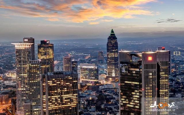 برج ماین؛از جذاب ترین و دیدنی ترین جاذبه های فرانکفورت، عکس