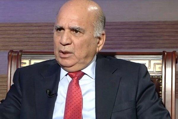 موضع گیری وزیر خارجه عراق درباره ایران و آمریکا