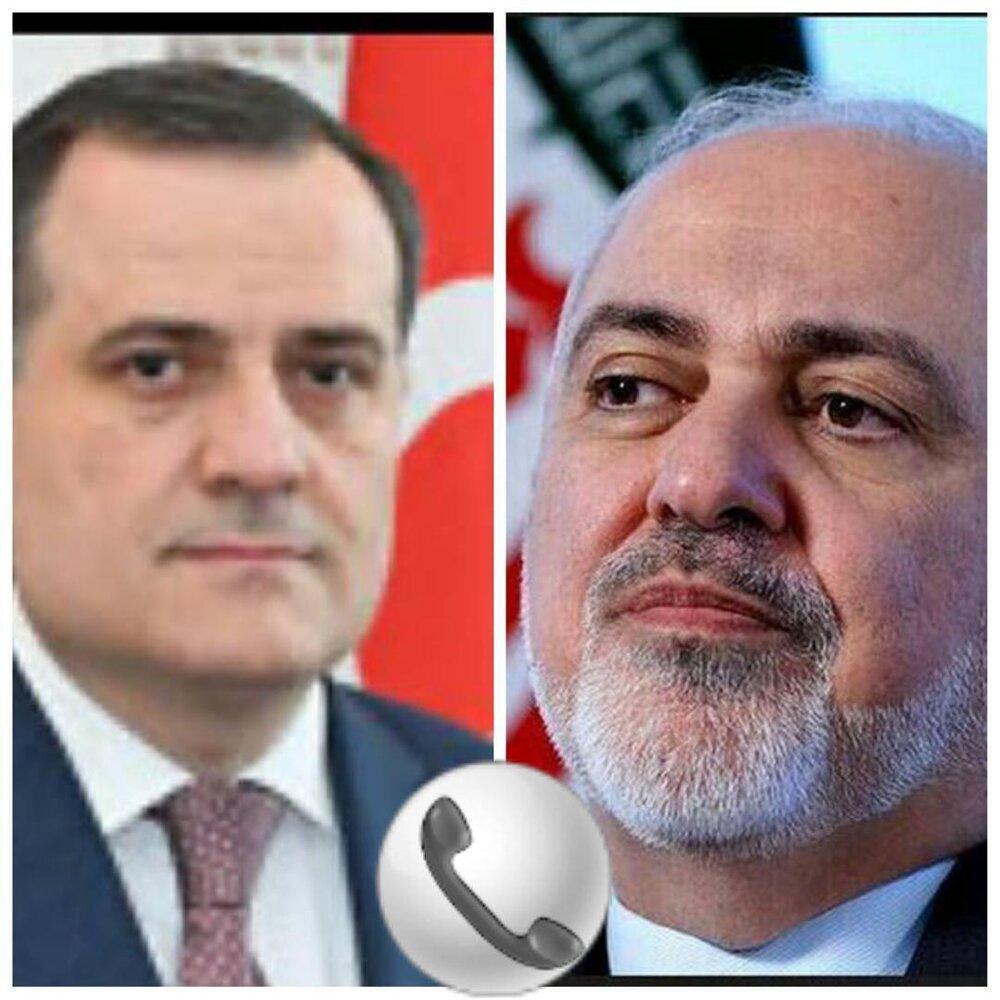 گفتگوی تلفنی وزرای خارجه ایران و آذربایجان