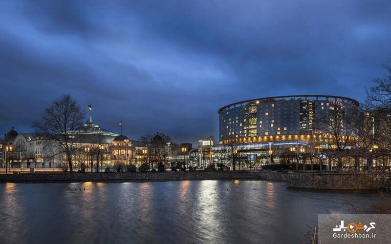 هتل ماریتیم،هتلی 4 ستاره با 542 اتاق در شهر فرانکفورت آلمان