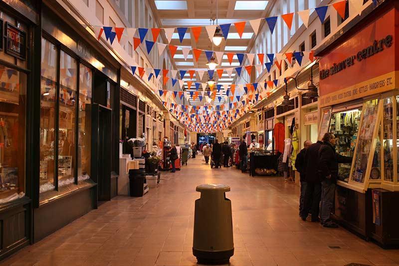 بهترین بازارهای شهر نیوکاسل در انگلستان، عکس