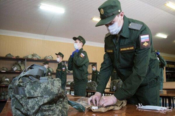 ارتش روسیه در مقابل کرونا واکسینه می شوند