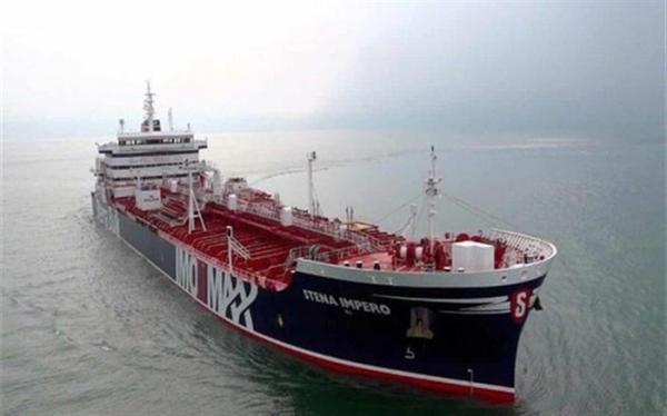 توقف یک فروند نفتکش کره ای در آب های هرمزگان