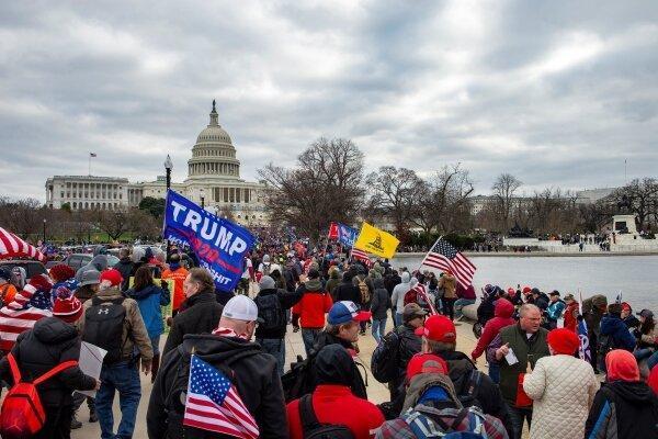 روزنامه گلوبال تایمز: آمریکا با یک فروپاشی داخلی روبرو است