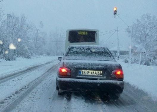 دمای هوا در بیشتر نقاط کشور کاهش می یابد