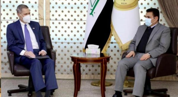 دیدار مشاور امنیت ملی عراق با سفیر آمریکا با موضوع تروریسم